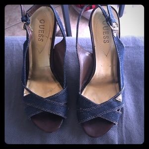 Wedges by Guess! Way cute!!